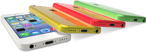 colorful iPhone 5C