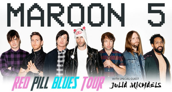 download maroon 5 red pill blues to MP3