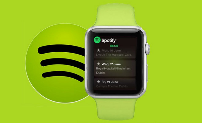spotify to apple watch